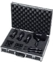 AKG Groove Pack High-performance Complete Drum Kit Microphone Set - 6 Mics